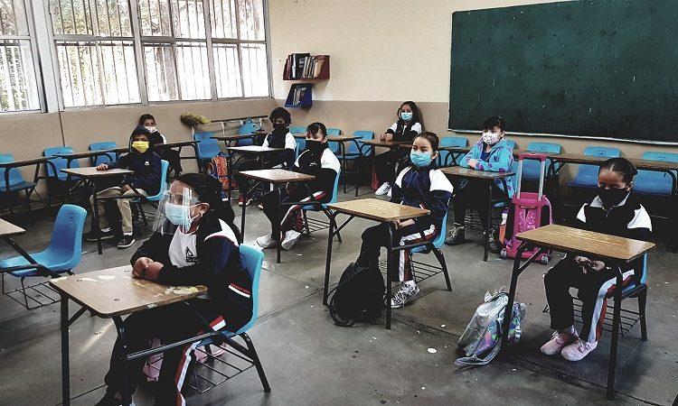 Retoman 670 escuelas clases presenciales en Aguascalientes