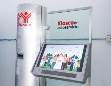 Instalan kiosko informativo de INFONAVIT en el CAM de Aguascalientes