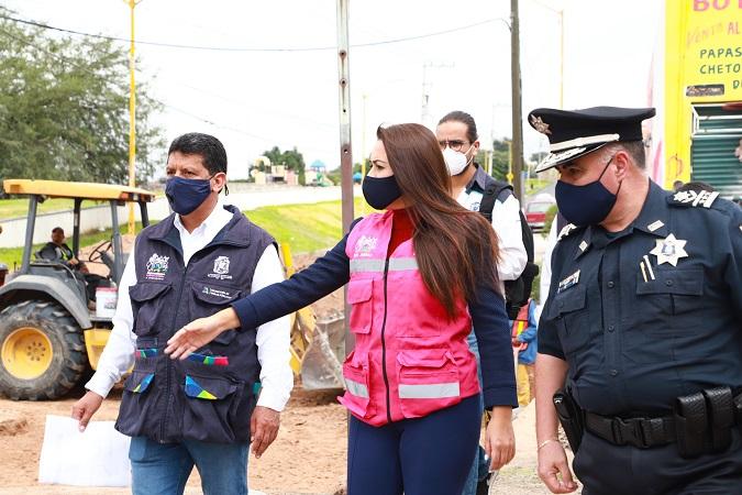 Invierte el municipio de Aguascalientes 12 mdp para rehabilitar calles en colonias del oriente