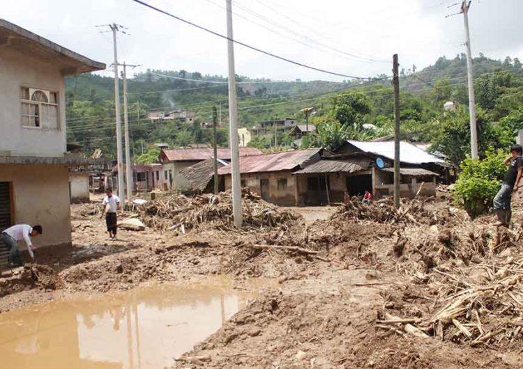 21 municipios poblanos tienen riesgo de deslaves por lluvias
