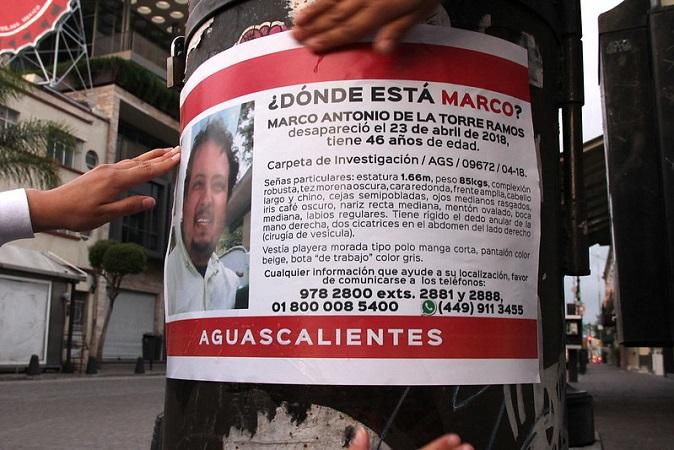 Hasta 12 reportes de personas desaparecidas al día recibe la Fiscalía de Aguascalientes