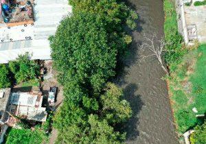 Alerta por crecida del río Atoyac en Puebla