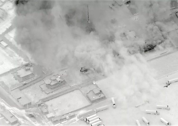 EU bombardea blancos iraníes en Irak y Siria: 'Enviamos un mensaje disuasivo muy claro'
