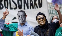 Covid-19: Brasil rebasa 500,000 muertes; miles protestan contra 'genocida' Bolsonaro