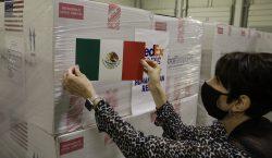 EU envía a México las vacunas anticovid anunciadas; llegan 1.3…