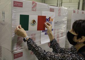 EU envía a México las vacunas anticovid anunciadas; llegan 1.3 millones de dosis