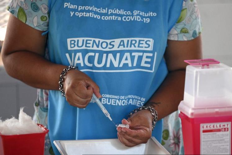 Argentina aprueba el uso de la vacuna Convidecia del laboratorio chino Cansino