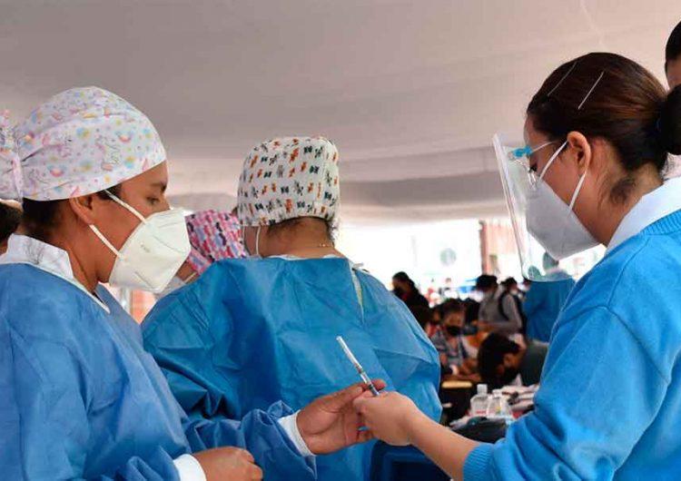 Inició vacunación anti Covid a personas de 40 a 49 años en la Sierra Negra