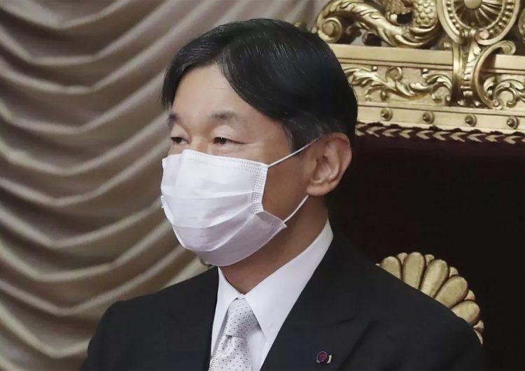 El emperador japonés Naruhito está 'extremadamente preocupado' por los Juegos Olímpicos y el covid-19