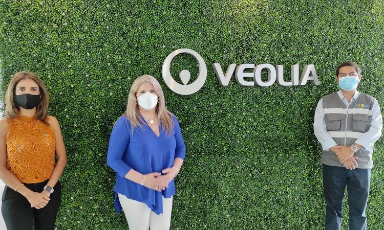 Refuerza Veolia Aguascalientes su colaboración con mujeres empresarias