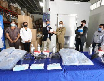 Entrega ONU equipo médico a personal del ISSEA