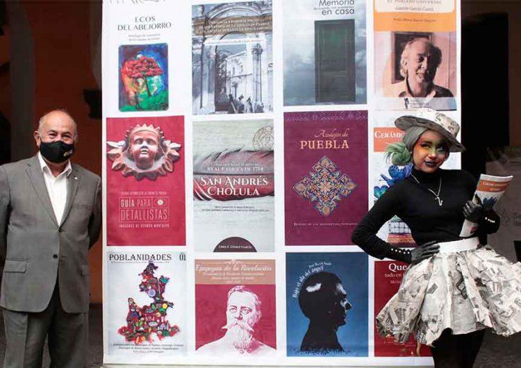 Puebla difundirá su grandeza en libros