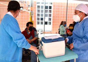 Puebla ha recibido un millón 723 mil 597 vacunas contra el Covid