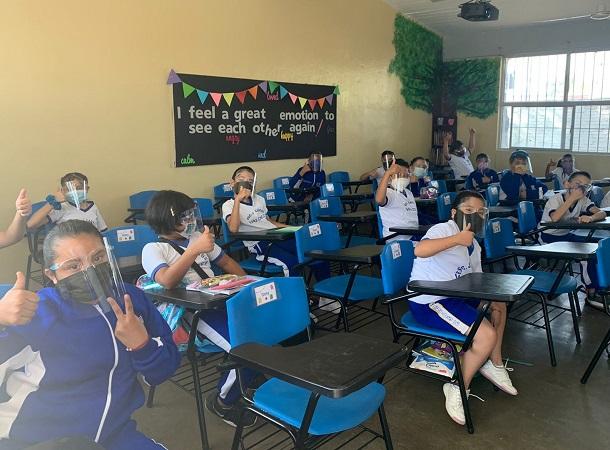Retoman clases presenciales más de 300 escuelas este miércoles en Aguascalientes