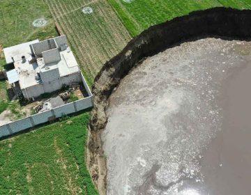 SOCAVÓN.Repondrán terreno y casa a familia afectada, y se pagará por cultivos dañados