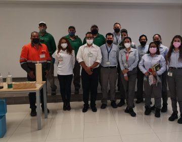 Fortalece Veolia Aguascalientes vínculos con empresas a través de la cultura del agua