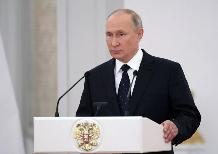 Vladimir Putin acusa a EU de organizar el golpe de Estado en Ucrania de 2014