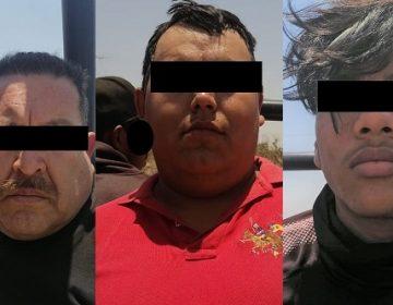 Detienen a cinco sujetos armados y con radios de comunicación en Asientos