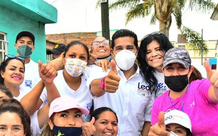 Propone Leo Montañez un municipio más humano, justo y parejo