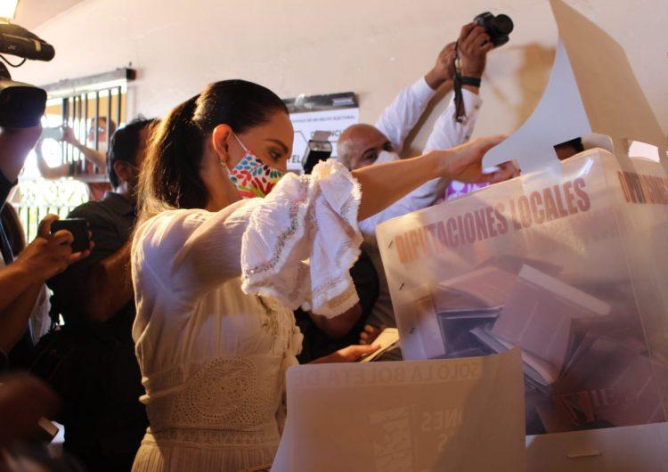 Lupita Jones ve entusiasmo en la población y pide al IEE cumplir la ley