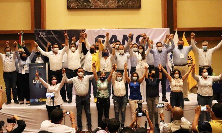 Arrasa PAN en elecciones de Aguascalientes