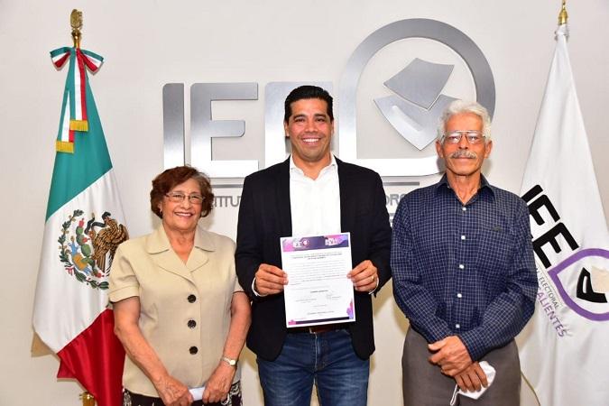 Recibe Leo Montañez constancia de mayoría como alcalde de Aguascalientes