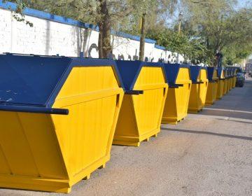 Adquieren más contenedores de basura en Jesús María