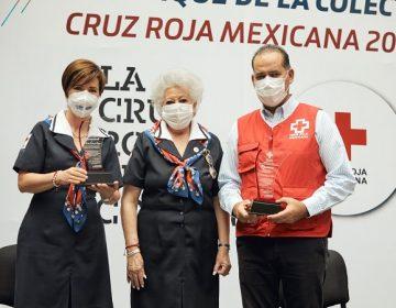 Encabeza gobernador de Aguascalientes colecta 2021 de la Cruz Roja