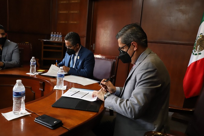 Establecen alianza ayuntamiento de Jesús María y Fiscalía General del Estado