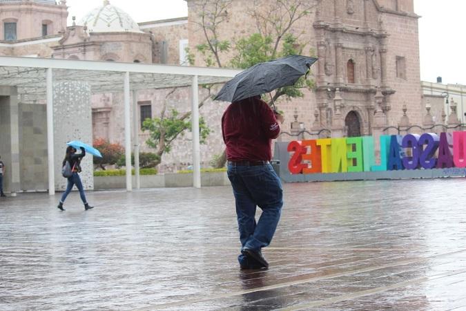 Se pronostican lluvias fuertes para Aguascalientes durante la semana