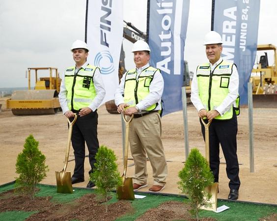 Inicia la construcción de la planta Autoliv en Aguascalientes; se crearán 3 mil empleos