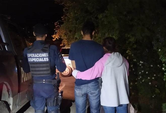 Frustran policías estatales extorsión de joven de 18 años en Calvillo