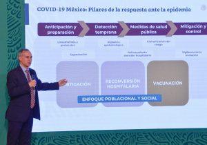 Secretaría de Salud anuncia desmantelamiento de algunos centros de atención covid-19