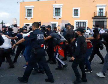 Alberto Guadarrama asegura que SSP sembró pruebas a normalistas desalojados