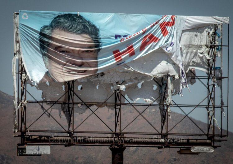Bonilla quiere prohibir propaganda en bardas, pero candidatos usaron más espectaculares