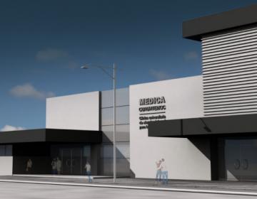 Colocan la primera piedra de la Clínica Universitaria Médica Cuauhtémoc