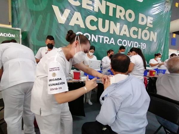Mañana tocan segundas dosis para adultos mayores de 50 años en Aguascalientes