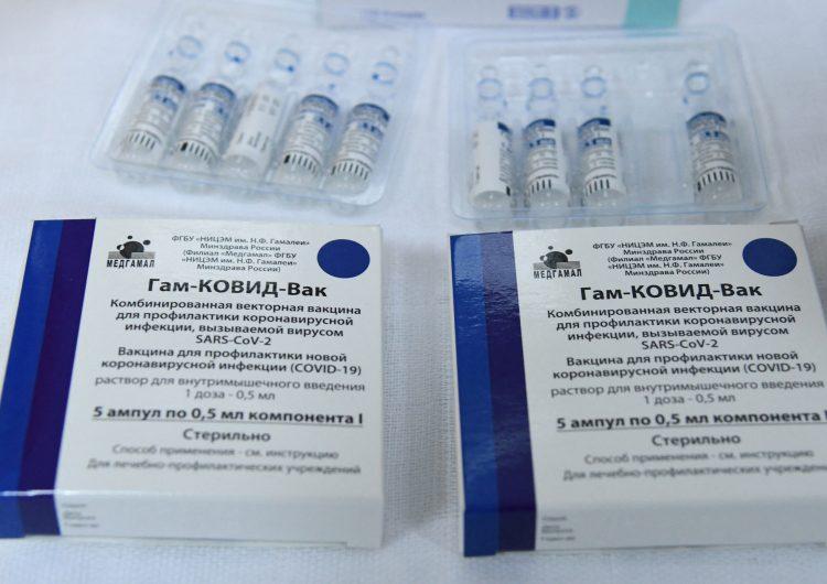 Covid-19: México lanza producción local de primer lote de vacunas Sputnik V