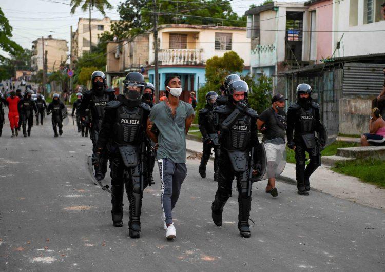 ONU se pronuncia por la liberación 'inmediata' de manifestantes detenidos en Cuba