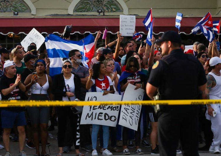 Unión Europea exige a Cuba liberar a ciudadanos arrestados durante protestas
