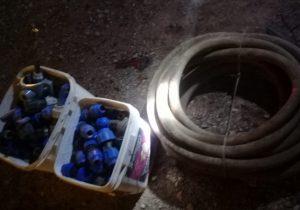 Detienen a presunto ladrón con 200 conectores de tubería de pozo de Veolia en Col. San Pedro