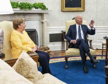 Merkel confirma relaciones 'amistosas' con EU en su última visita como canciller de Alemania
