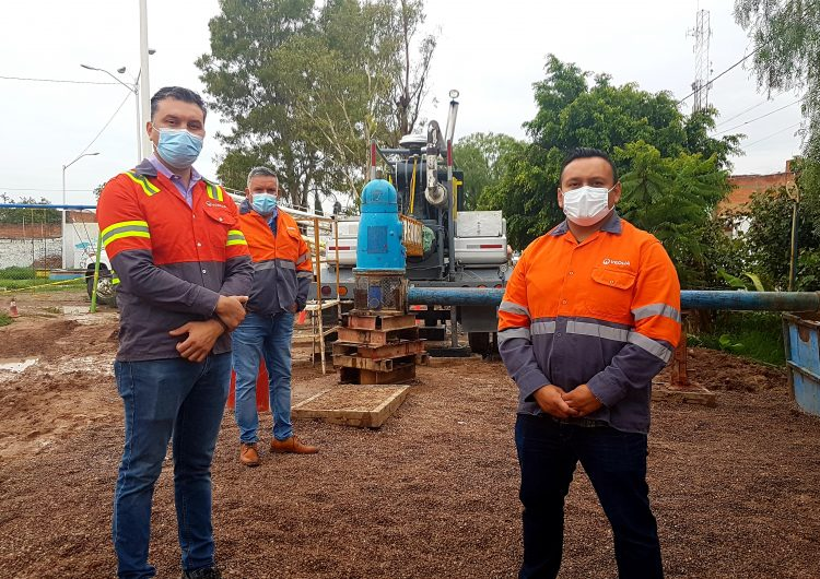 Perforan Veolia y CCAPAMA nuevo pozo en el sector Insurgentes