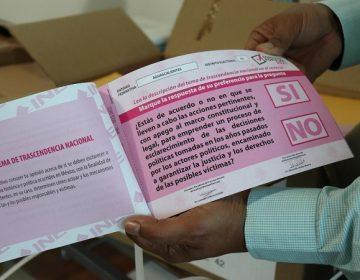 Ya llegaron a Aguascalientes las boletas de la consulta popular; son más de un millón