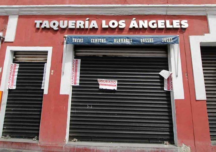 Aplican clausuras a negocios formales pero no a ambulantes en Puebla