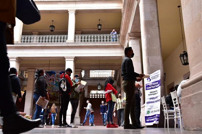 Implementan nueva plataforma digital de bolsa de trabajo en el municipio de Aguascalientes