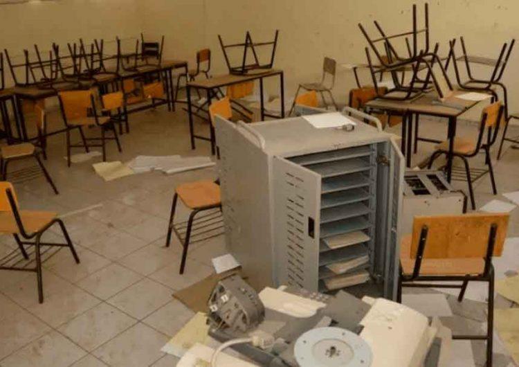 La delincuencia en Puebla dejó escuelas saqueadas durante pandemia
