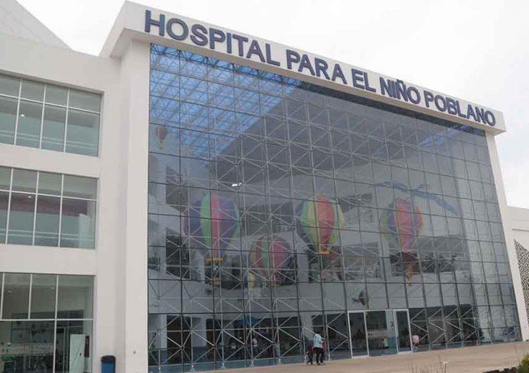 El Hospital del Niño Poblano está preparado para atender a niños con Covid