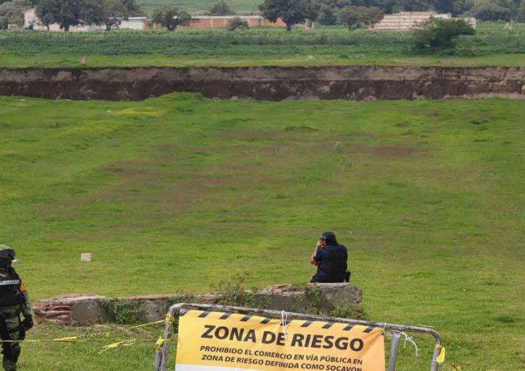 Familia afectada por socavón rechaza terrenos ofrecidos
