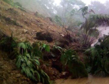 Lluvias dejaron daños en en tres municipios poblanos